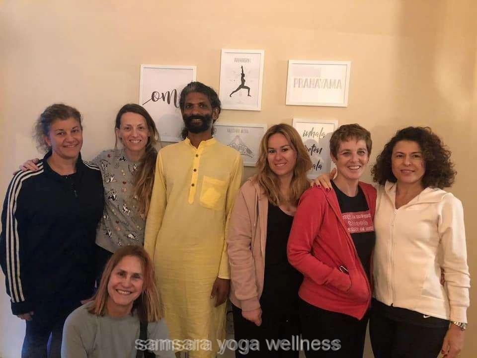 Estudio de Yoga con Angélica